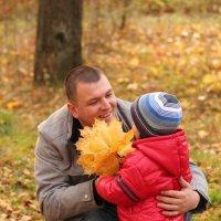 папа и сын :: Александра