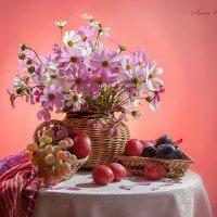 С фруктами и космеями. :: Лилия *