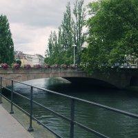Франция,Страсбург,мост над рекой Иль :: Vitaliy Korbut