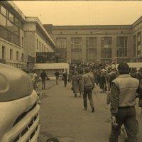Ленинградский вокзал. 1989 год. :: Алексей Пышненко