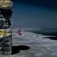 Лунный берег :: Boris Khershberg