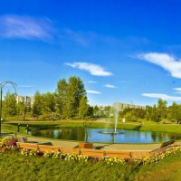 Панорама парка :: юрий Амосов
