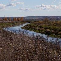 Река Яхрома :: Михаил Алдущенков
