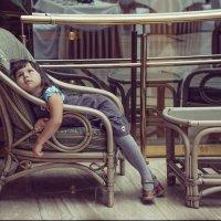доча утомилась.... :: Olga Firsova