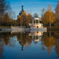 Ротонда на Звёздном озере :: Анжелика Литвинова