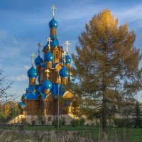 Церковь Преображения Господня в Звездном городоке :: Анжелика Литвинова
