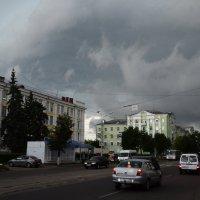 Тучи над городом :: Сергей Шашкин