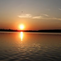закат на реке Стырь :: Igor Osh