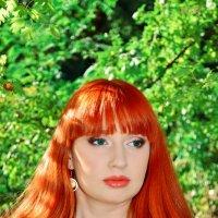 Рыжая :: Евгения Мартынова