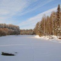 Река зимой :: Сергей