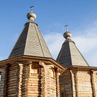 деревянные церкви Руси :: Наталья Василькова
