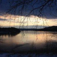 Закат на пороге  зимы. :: Наталья Юрова