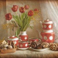 Чайный с баранками.... :: Елена Kазак