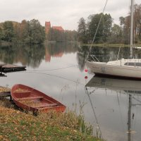 Осень в Тракае :: Павел Дунюшкин
