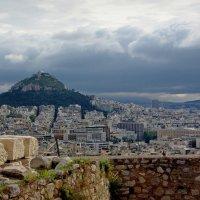Вид на Афины с Акрополя :: Михаил Рогожин