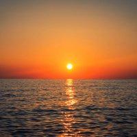 Морской закат :: Виктория Юшина