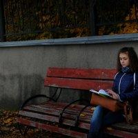 девочка с дневником :: Elis Stets