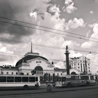 Красноярский Вокзал :: Лиза Игошева
