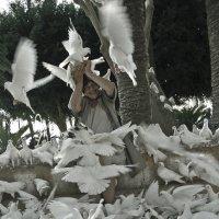 Белое на белом... :: Людмила Синицына