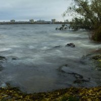 Непогода на Днепре :: Вячеслав Харченко