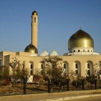 Мечеть города Актау :: Анатолий Чикчирный