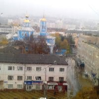 Осень из окна :: Сергей Тимоновский