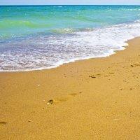 Следы на песке :: Олег Мелентьев