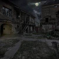 Ночь в старом дворике :: Boris Belocerkovskij