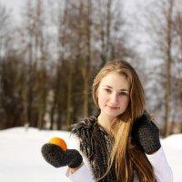 С апельсином :: Наталия Лашук