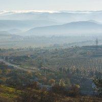 Утро в Балаклавской долине :: Игорь Кузьмин