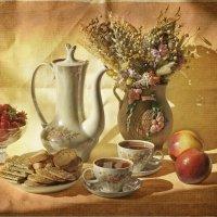 Чайный с клубничкой. :: Елена Kазак