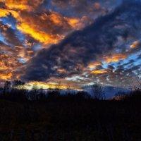 Псковские закаты :: Михаил Манеев