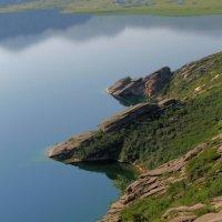 залив.вид с верху :: lev makhnev