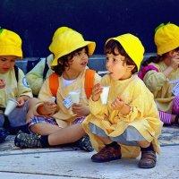 Перекус в детском саду :: Михаил Рогожин