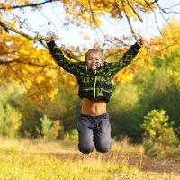 Осенний прыжок :: Наталия Красюк