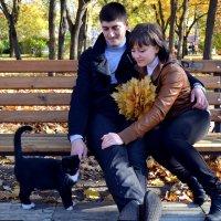 Прогулка в парке. :: Евгения Драган
