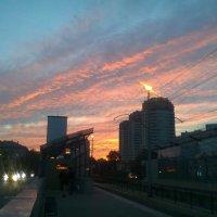 осенний закат :: Оля Любимова