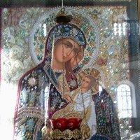 Икона Богоматери Утоли моя печали Казанской Амвросиевской женской  пустыни :: Dogdik Sem