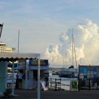 Bermuda clouds :: Eugenia Kazarnovskaya