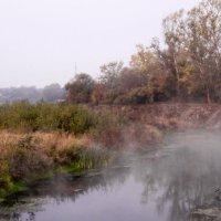 туман над рекой :: valeriy g_g