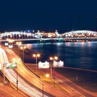 Большеохтинский мост. Санкт-Петербург :: Евгений Чайковский