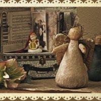 Рождественская открытка :: Тата Казакова