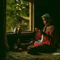 Девочка у окна  1 :: Александр Удод