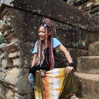 Камбоджа. Ангкор-Ват. Кхмерка :: Владимир Шибинский