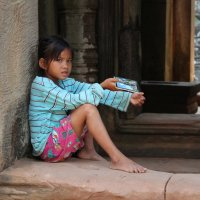 Камбоджа. Ангкор-Ват. :: Владимир Шибинский