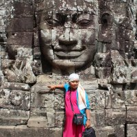 Камбоджа. Ангкор-Ват. Века идут, лица не меняются :: Владимир Шибинский