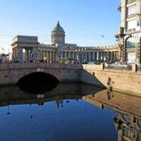 Казанский собор и канал Грибоедова :: Наталья