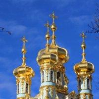 Купола Воскресенской церкви :: Михаил Бояркин