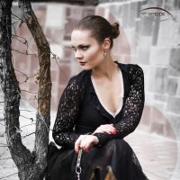 Lady in black :: Dmitriy Dzagoev