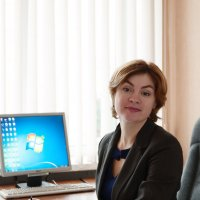 В офисе :: Анастасия Богатова